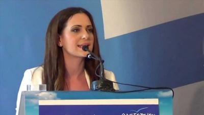 Παπαδοπούλου (ΑΝΕΛ): Ο Θεοδωράκης να μην εκμεταλλεύεται τα εθνικά θέματα για την εξυπηρέτηση μικροκομματικών σκοπιμοτήτων