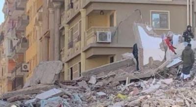 Αίγυπτος: Στους 8 οι νεκροί και στους 29 οι τραυματίες από την κατάρρευση κτιρίου στο  Κάιρο