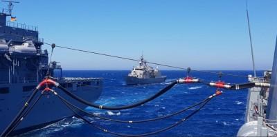 Συνεκπαίδευση μονάδων του Πολεμικού Ναυτικού και της SNMG2 στο κεντρικό Αιγαίο