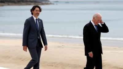 Χωρίς συμφωνία η συνάντηση Biden - Trudeau για την άρση των περιορισμών στα σύνορα ΗΠΑ – Καναδά