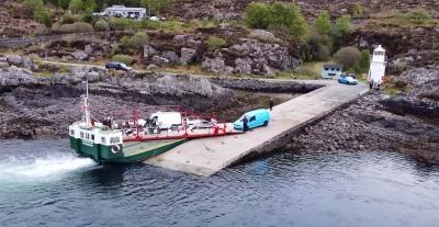 Αυτό είναι ένα από τα μικρότερα ferry-boats στον κόσμο!