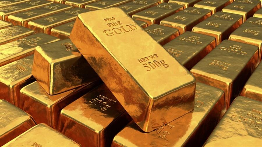 Οριακή πτώση του χρυσού στα 1.840,1 δολάρια/ουγγιά - Με θετικό πρόσημο η εβδομάδα με κέρδη 3%