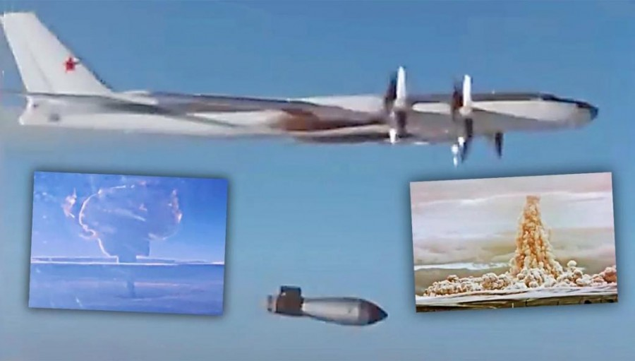 Ρωσία: Δημοσίευσε έκρηξη - ντοκουμέντο πυρηνικής βόμβας, 3.333 φορές ισχυρότερη από της Χιροσίμα