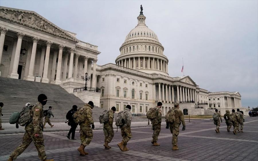 ΗΠΑ: Οπλισμένη η Εθνοφρουρά στην Ουάσινγκτον εν όψει της ορκωμοσίας Biden
