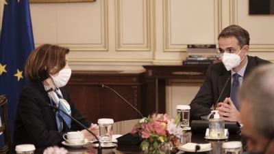 Μητσοτάκης: Ιστορική η συμφωνία για τα 18 Rafale - Με την Τουρκία συζητάμε μόνο οριοθέτηση θαλάσσιων ζωνών