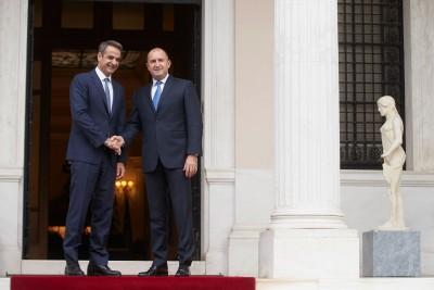Συνάντηση Μητσοτάκη με τον πρόεδρο της Βουλγαρίας, Rumen Radev – Στο επίκεντρο διμερείς σχέσεις, Βαλκάνια