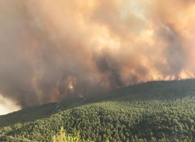 Γ.Γ. Πολιτικής Προστασίας: Πολύ υψηλός κίνδυνος πυρκαγιάς για 4 περιφέρειες της χώρας τη Δευτέρα 16/8