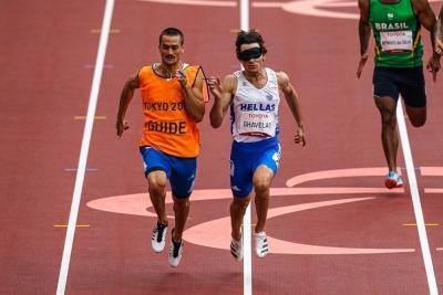 Παραολυμπιακοί Αγώνες: Η απονομή του χρυσού μεταλλίου στον  Γκαβέλα (video)