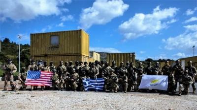 Τριμερής συνεκπαίδευση δυνάμεων Ειδικών Επιχειρήσεων Ελλάδας, Κύπρου και ΗΠΑ στη Σούδα