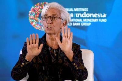 Μήνυμα Lagarde: Εμπορικοί και νομισματικοί πόλεμοι βλάπτουν την ανάπτυξη