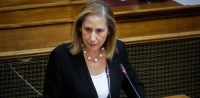 Ξενογιαννακοπούλου: Πλήρως κοστολογημένα τα μέτρα - Πολιτική στόχευση από Στουρνάρα σε καιρό εκλογών