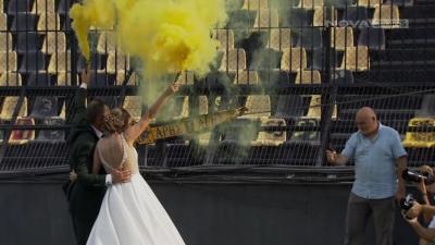 Γάμος με άρωμα… Άρη στο «Κλ.Βικελίδης» (video)