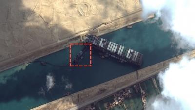 Πιθανότατα 28 Μαρτίου θα αποκολληθεί το πλοίο Ever Given από την Διώρυγα του Σουέζ - Έχουν μπλοκάρει 300 πλοία