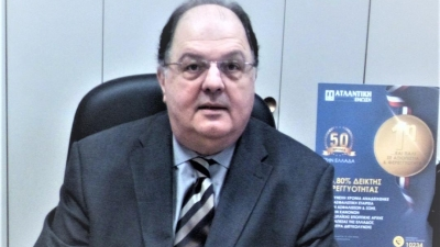 Γ. Βλασσόπουλος (Ατλαντική Ένωση): Παράγοντας ανάπτυξης της ασφαλιστικής αγοράς, η εξωστρέφεια και ο πελατοκεντρικός της προσανατολισμός
