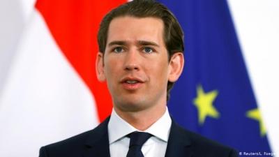 Kurz (Καγκελάριος Αυστρίας): Βρισκόμαστε κοντά σε έναν «διορθωτικό μηχανισμό» για τις διανομές εμβολίων