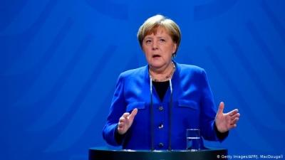 Merkel (Γερμανία): Δύσκολη η κατάσταση - Αναπόφευκτη η χρήση του «φρένου»