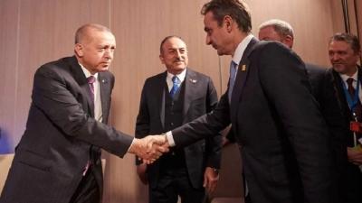 Συνάντηση Erdogan με Μητσοτάκη «βλέπουν» οι Τούρκοι - Η ερμηνεία της δήλωσης Πελώνη