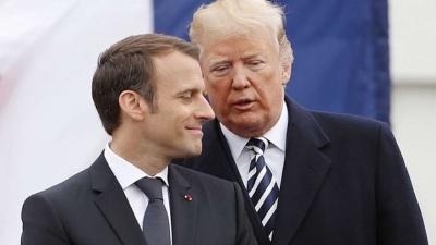 Εκεχειρία Macron - Trump στη μάχη του ψηφιακού φόρου