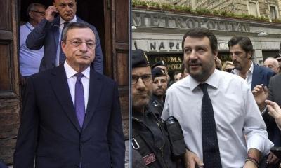 Ιταλία: «Ασπίδα» Salvini σε Draghi – «Θα υπερασπιστεί τα συμφέροντα της Ιταλία στην ΕΕ»