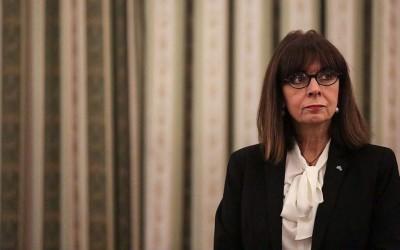 Επίσημη επίσκεψη της ΠτΔ, Κατερίνας Σακελλαροπούλου στην Κύπρο στη σκιά των τουρκικών προκλήσεων