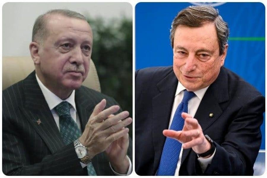 Erdogan κατά Draghi για «sofagate»: Απολύτως αναιδείς και χυδαίες οι δηλώσεις του