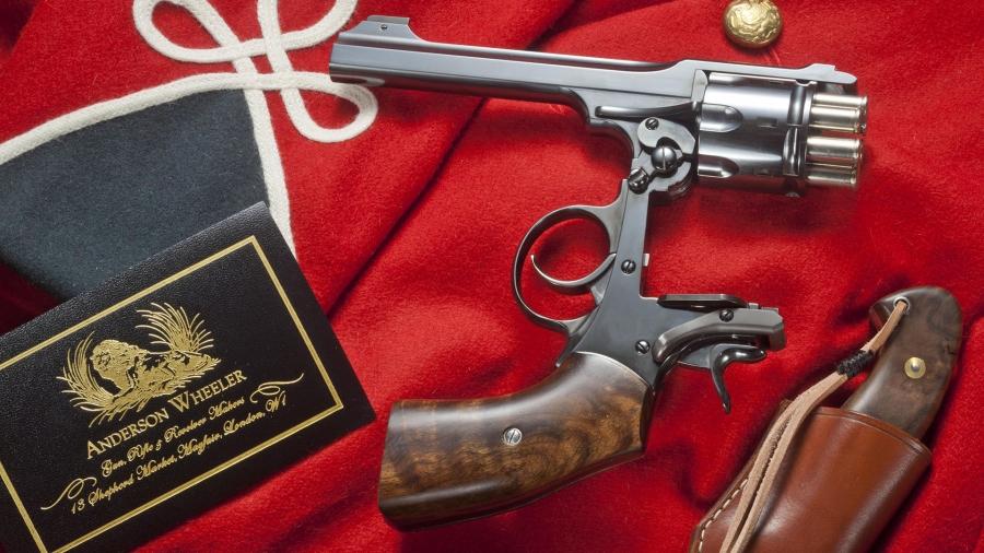 Anderson Wheeler WEBLEY VII .357 Magnum - Μια παρηκμασμένη αυτοκρατορία
