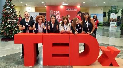 Η Interamerican κοντά στους εθελοντές του TEDxPatras 2019