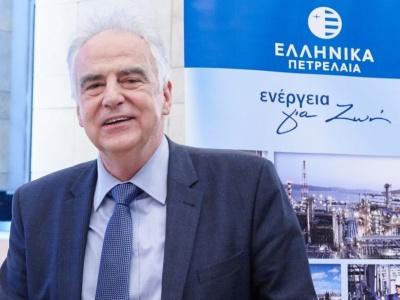 Τσοτσορός (ΕΛΠΕ): Τα EBITDA θα υπερβούν τα 900 εκατ. ευρώ το 2018