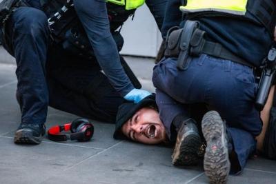 Αυστραλία: Εκτεταμένα επεισόδια σε διαδηλώσεις κατά των lockdown