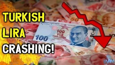 Βουτιά 16% για την τουρκική λίρα, μετά τη νέα αλλαγή στην Κεντρική Τράπεζα - Έφτασε στις 8,4 ανά δολάριο