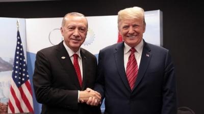 Τηλεφωνική επικοινωνία του Trump με τον Erdogan -  Τι συζήτησαν οι δύο άνδρες