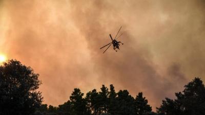 Γ.Γ. Πολιτικής Προστασίας: Πολύ υψηλός ο κίνδυνος πυρκαγιάς για αύριο Κυριακή (19/8)