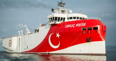 Απομακρύνεται από την Ρόδο το Oruc Reis, χωρίς αποτέλεσμα οι έρευνες – Τα συνοδευτικά σκάφη…. πλησιάζουν το Barbaros