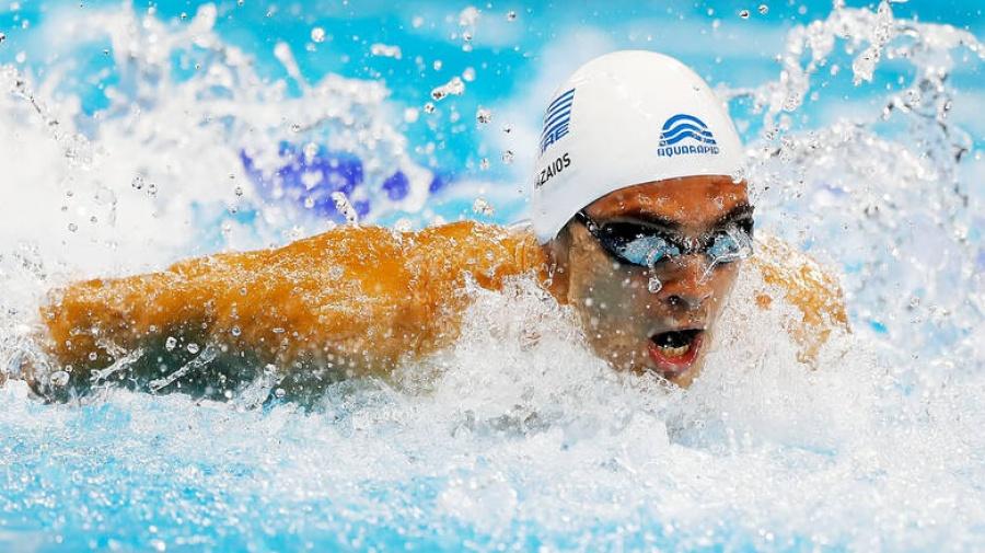 Κολύμβηση: Χάλκινοι οι Ντουντουνάκη και Βαζαίος στο Ευρωπαϊκό Πρωτάθλημα της Γλασκώβης
