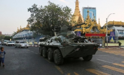 ΗΠΑ: Στρατιωτικές κινήσεις στην εμπορική πρωτεύουσα της Μιανμάρ
