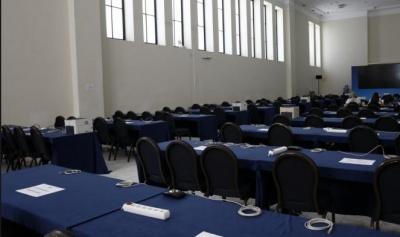 Σε ετοιμότητα το Κέντρο Τύπου στο Ζάππειο ενόψει των εθνικών εκλογών αύριο (7/7)