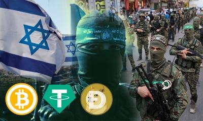 Ισραήλ: Το υπουργείο Άμυνας θα κατασχέσει λογαριασμούς κρυπτονομισμάτων της Χαμάς