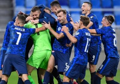 Σλοβακία: Παρελθόν η παράδοση του πρώτου ημιχρόνου, μετά την ήττα από την Σουηδία!