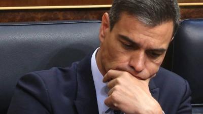 Ισπανία: Έχασε την ψήφο εμπιστοσύνης από τη Βουλή ο Sanchez για να σχηματίσει κυβέρνηση