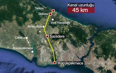 Τουρκία: Πράσινο φως για το κανάλι της Κωνσταντινούπολης των 45 χιλιομέτρων