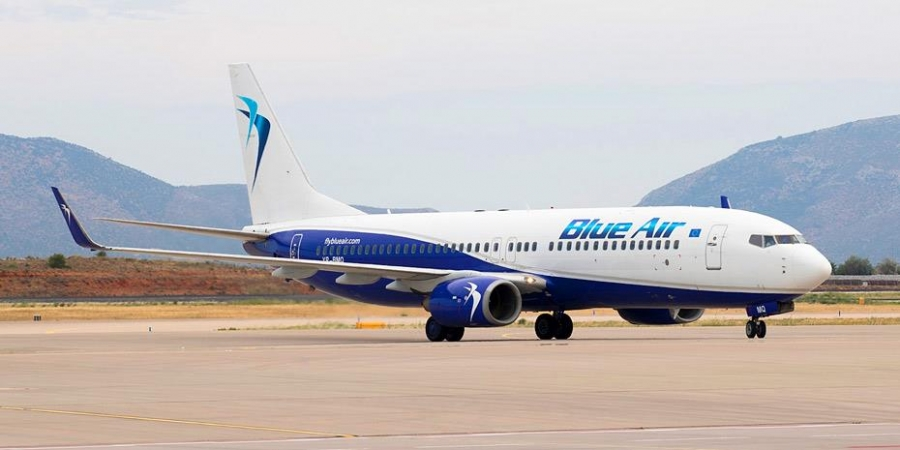 Blue Air: 17 απευθείας εβδομαδιαίες πτήσεις μεταξύ Ρουμανίας και Ελλάδας