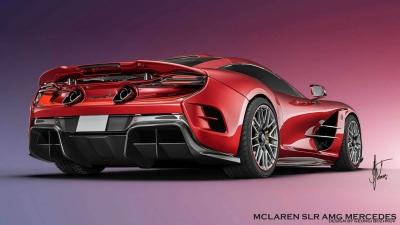 Ψηφιακή επαναφορά για την Mercedes SLR McLaren