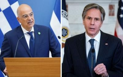 Δένδιας και Blinken υπογράφουν την 5ετή αμυντική συμφωνία Ελλάδας - ΗΠΑ