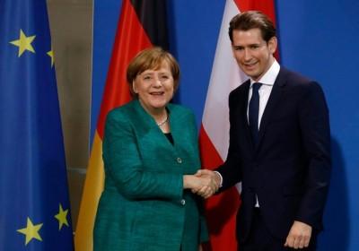 Kurz σε Merkel: Η Αυστρία έχει ήδη υποδεχθεί πολλούς ασυνόδευτους πρόσφυγες