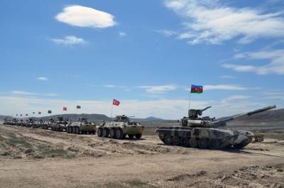 Η Τουρκία και το Αζερμπαϊτζάν ξεκίνησαν κοινές στρατιωτικές ασκήσεις