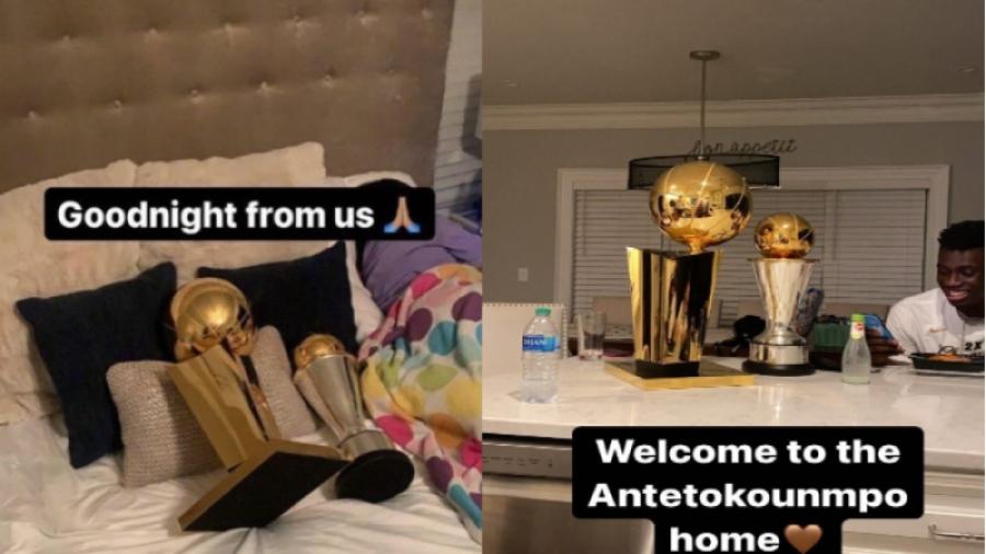 Γιάννης Αντετοκούνμπο: Όνειρα «χρυσά» με τις κούπες αγκαλιά!