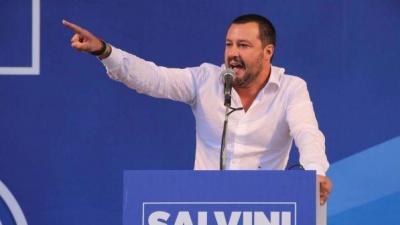 Ιταλία: Πρώτη και με διαφορά η Lega του Salvini – Προηγείται με 33% ενόψει ευρωεκλογών