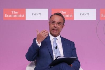 Σταϊκούρας: Ρεαλιστική η πρόβλεψη για ανάπτυξη 3,6% το 2021