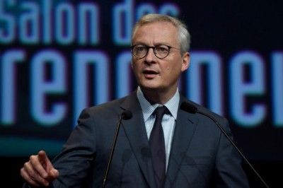 Le Maire (Γάλλος ΥΠΟΙΚ): Ενίσχυση 1 δισ. ευρώ στις επιχειρήσεις που θα πληγούν από την απαγόρευση κυκλοφορίας