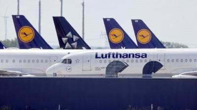 Η Lufthansa καθηλώνει στο έδαφος ακόμη περισσότερα αεροσκάφη, λόγω πανδημίας